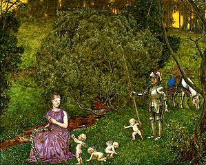 Fairy tale - Knight.