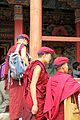 Three monks - Hemis Gompa (10001239383).jpg