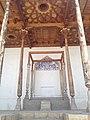Throne of Emir, Ark Fortress in Bukhara.jpg