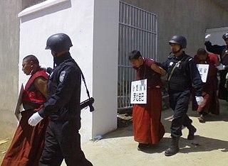 2008 Tibetan unrest Political violence in Tibet