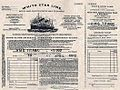 Ticket for the Titanic, 1912.jpg
