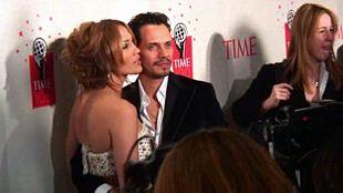 Jennifer Lopez e il terzo marito Marc Anthony al Time 100 Gala 2006