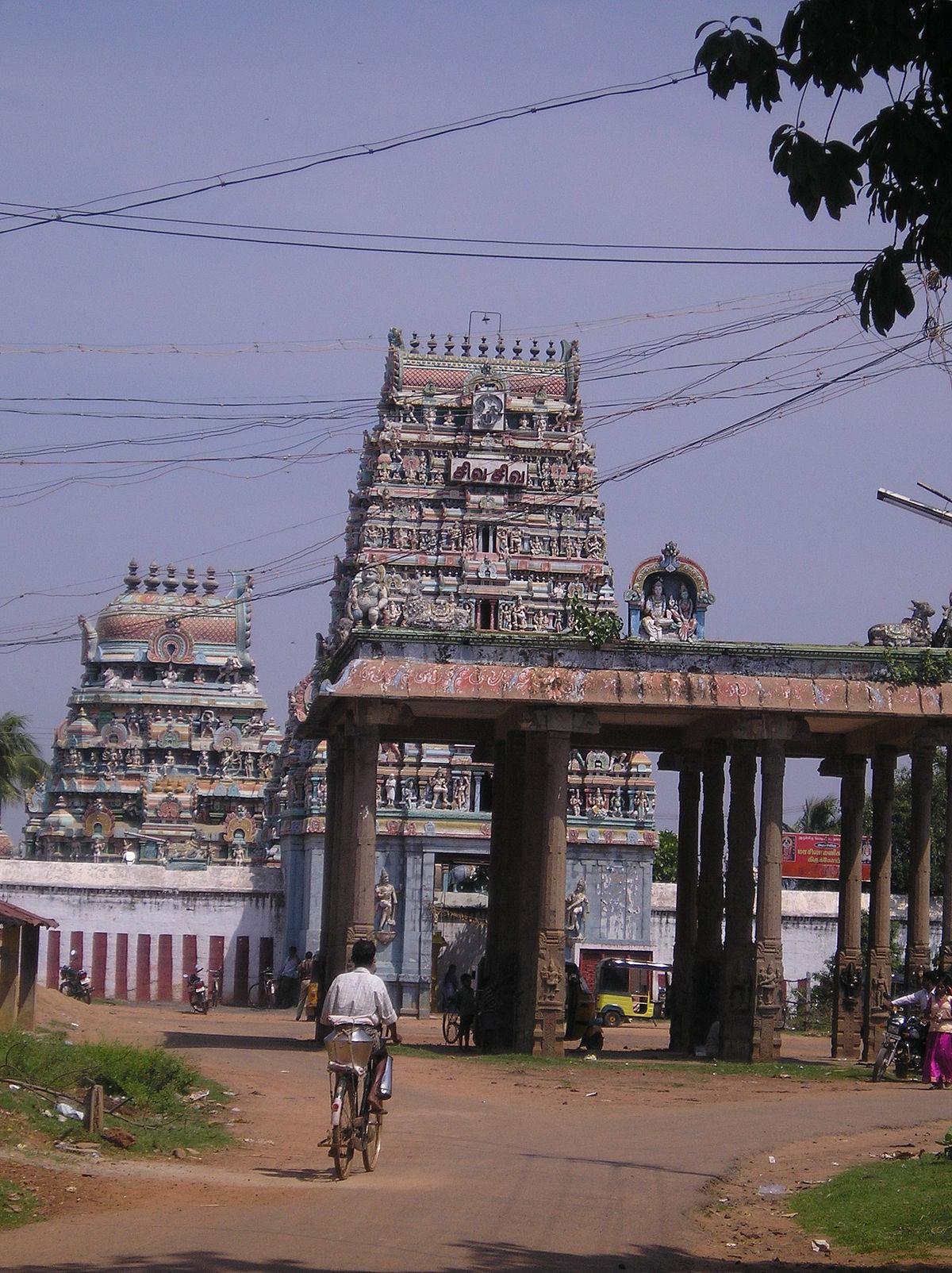 Masilamaniswara Temple, Thirumullaivoyal - Wikipedia