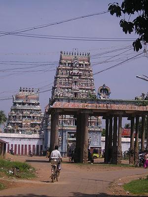 Masilamaniswara Temple, Thirumullaivoyal - Image: Tirumullaivayil 2