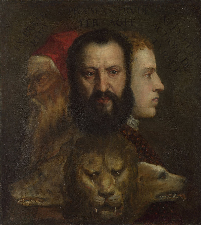 Titian and workshop - An Allegory of Prudence - Google Art Project.jpg