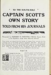 To the South Pole. Captain Scott's own story told from his journals (Page (245)) BHL48505433.jpg