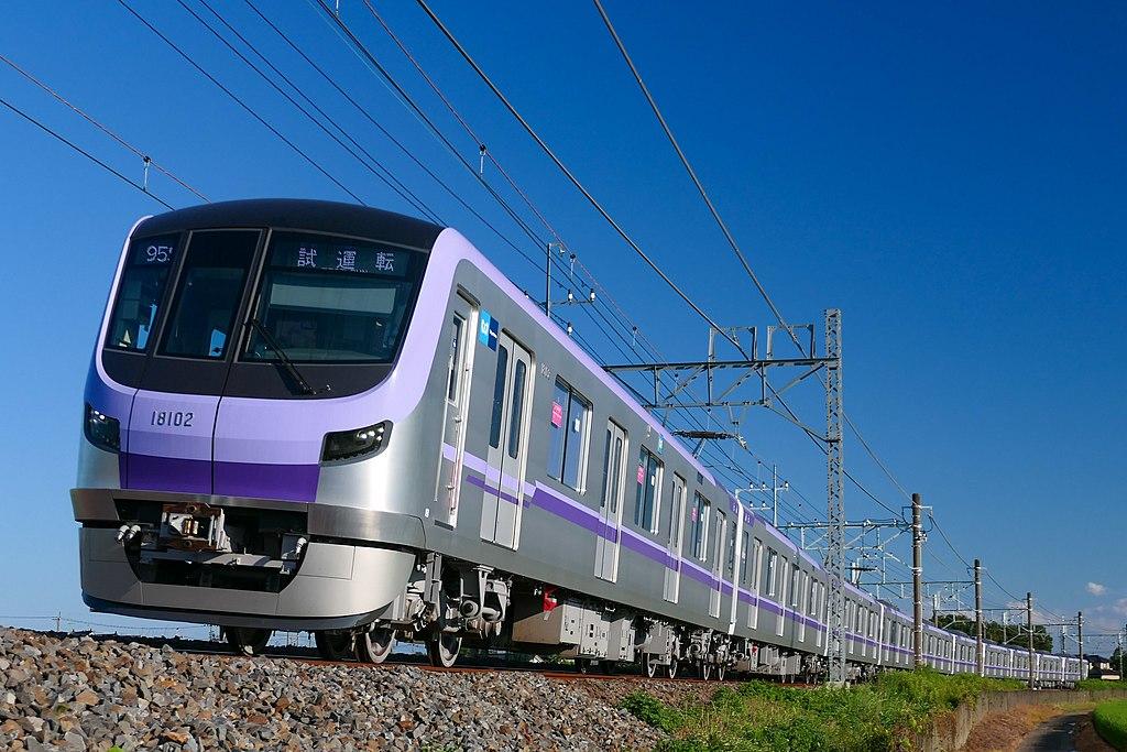 Tokyo-Metro Series18000-18102 Test-Run.jpg