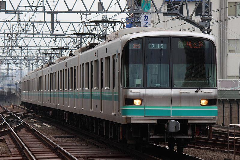 File:Tokyo Metro 9000 series 9113 20170422.jpg