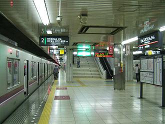 Chūō-Rinkan Station - Tokyu platforms