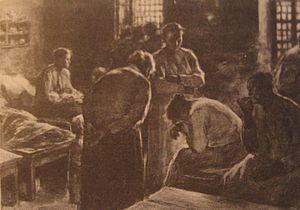 Pre-1910 illustration by Leonid Pasternak of L...