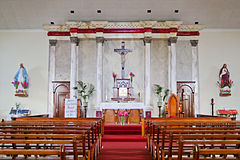 Nave and Altar of St Joseph's