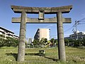 Torii of Kashii Shrine near Mishimazaki Beach.jpg