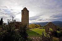 Torre de la iglesia de Guaso.jpg