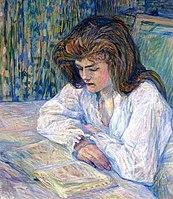Toulouse-Lautrec - The Reader, 1889.jpg