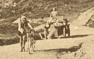 1910 Tour de France - Image: Tour de France 1910 01 Octave Lapize
