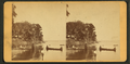 Tourists amusing themselves on the St. John's at Palatka, Florida, from Robert N. Dennis collection of stereoscopic views.png