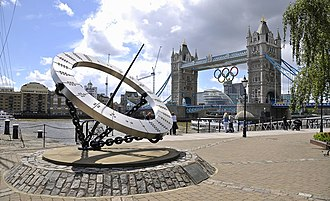 Wendy Taylor - Timepiece by Tower Bridge