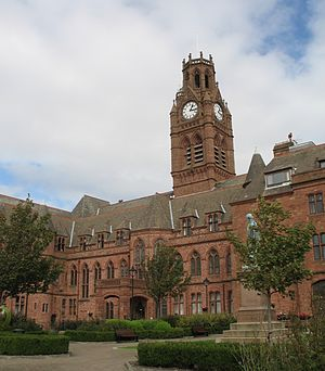 Barrow-in-Furness Town Hall - Image: Town Hall, Barrow