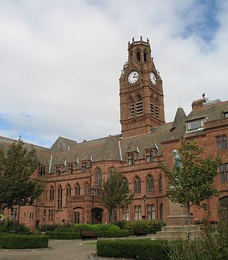 Barrow-in-Furness Town Hall - Image: Town Hall, Barrow