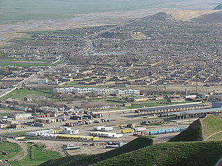 Torghundi town in Herat Province, Afghanistan