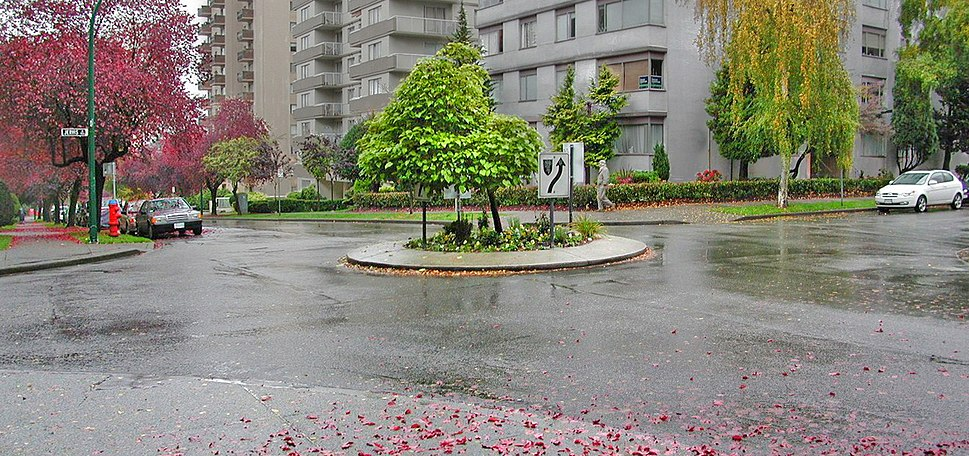 Traffic-Circle-Vancouver-Grid