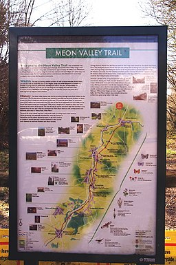 Trail Map, Meon Valley Trail - geograph.org.uk - 830514