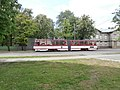 Tram 171 at L. Koidula Stop in Tallinn 2 June 2015.JPG