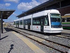 Škoda Elektra - Image: Tram Metrocagliari