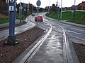Tram and road intersection - geograph.org.uk - 305272.jpg