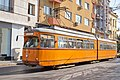 Tram in Sofia near Central mineral bath 2012 PD 006.jpg