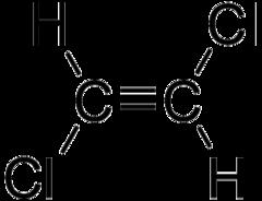 Транс дихлорэтилен формула