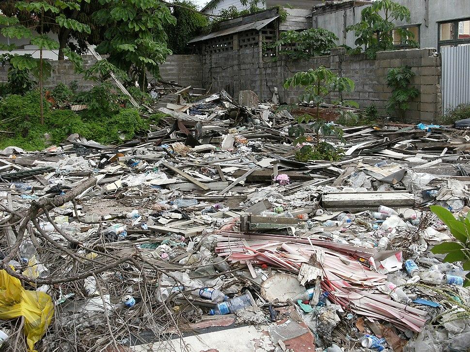 Trash in Paramaribo