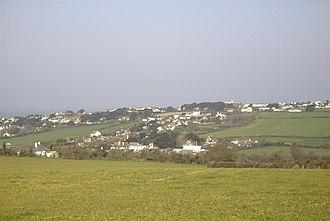 Trebetherick - Image: Trebetherick viewed from inland