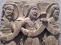 Tres profetes. Relleu de la catedral romànica de Vic. Museu de Belles Arts de Lió.jpg
