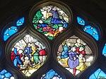 Triel-sur-Seine (78), église Saint-Martin, verrière n° 22, tympan.JPG
