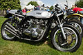 Triton. 1954 Norton frame with Triumph Trident Engine (15613429296).jpg