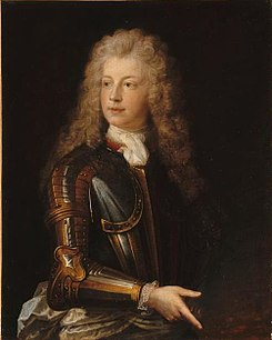 Troy - Louis Auguste de Bourbon, Prince of Dombes in armour.jpg