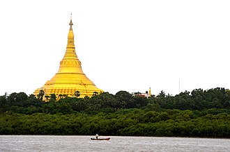 Global Vipassana Pagoda - View from the Arabian sea