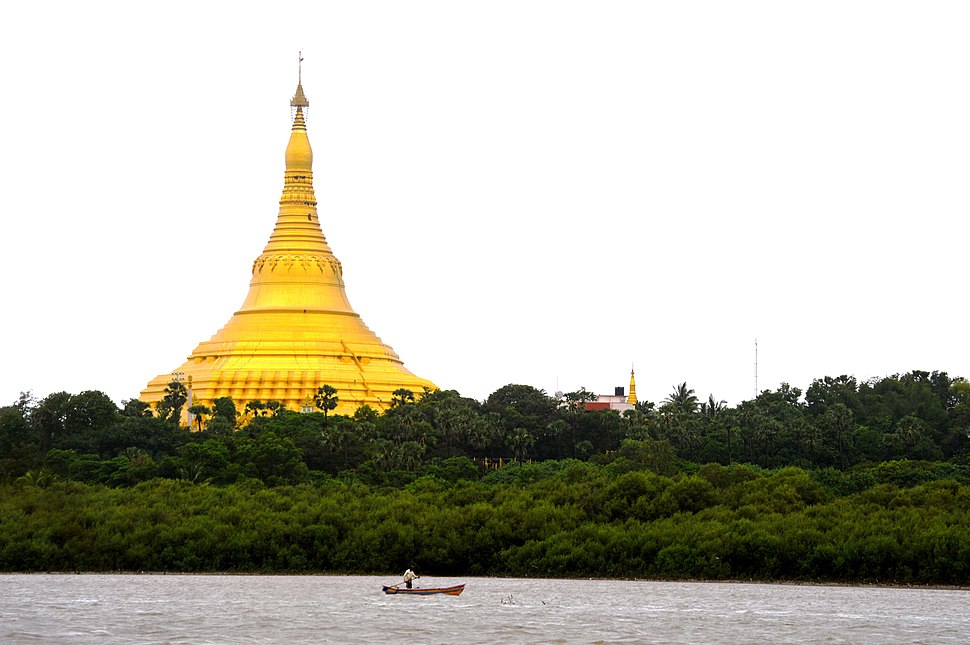 Truly gold Global Vipassana Pagoda