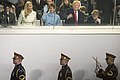 Trump Family watching the 58th Presidential Inaguration parade (170120-D-PB383-042).jpg