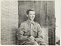 Trumpeter Burgess aged 15. Youngest boy of the 7th Light Horse by J.F. Smith of the 7th Light Horse in Egypt and Palestine, c. 1914-1918 (13455906885) (2).jpg