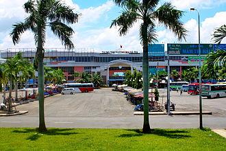 Provincial city (Vietnam) - Image: Trung tâm thương mại Bà Rịa