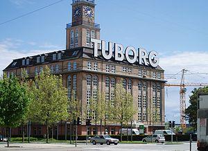 Tuborg Havn - The Mineral Water Bottling Plant from 1923