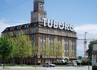 Sven Risom - The Tuborg Brewery's Mineral Water Bottling Plant in Hellerup prior to its demolition.