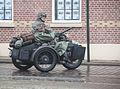 Twee duitsers op motor met machinegeweer bevrijdingsfestival Brielle 2015.jpg