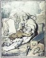 Two men placing the shrouded corpse which they have just Wellcome L0014659.jpg