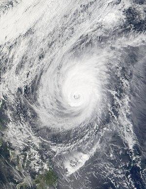 Typhoon Pongsona