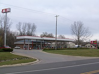 Speedway LLC - Typical Speedway store in Bath Township, Michigan