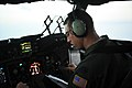 U.S. Air Force Capt. Brandes Ramsey, assigned to the 7th Airlift Squadron at Joint Base Lewis-McChord, Wash., flies a C-17 Globemaster III aircraft June 5, 2012, during a mission in support of Joint Operational 120605-F-RM405-135.jpg