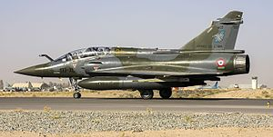 "Dassault Mirage 2000N/2000D - 2000D 603 of 3/3 ""Ardennes"" at Kandahar, 2010"